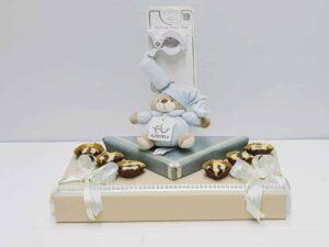 מתנה לברית דובי קשקשן בעיצוב שוקולד