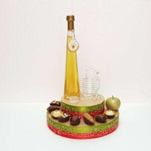 מתנה לראש השנה שוקולד ודבש בעיצוב