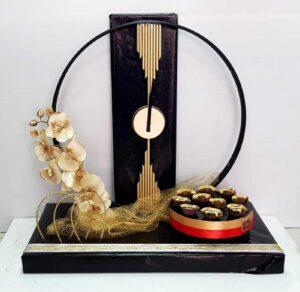 מתנה שעון קיר מהמם בעיצוב מכובד