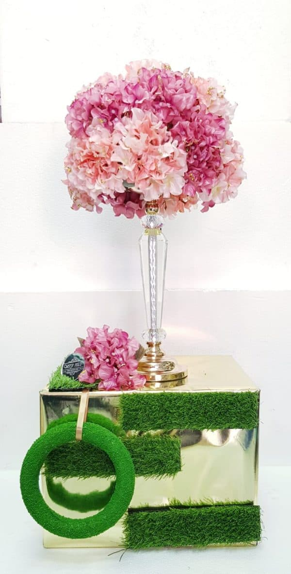 עיצוב מתנה ופרחים לכלה