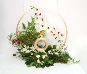עיצוב פרחים לכלה לארוסין