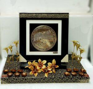 עיצוב שוקולד ברכת הבית זהב