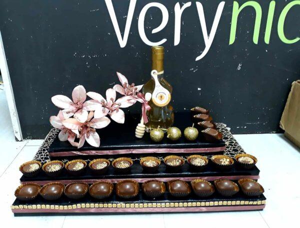 עיצוב שוקולד ודבש לראש השנה