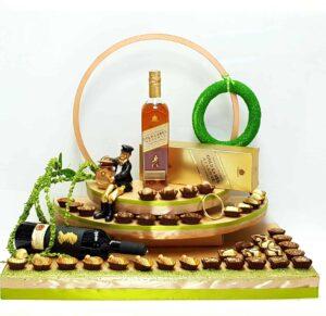 עיצוב שוקולד ענק ומיוחד לשבע ברכות ארוסין ולכל ארוע