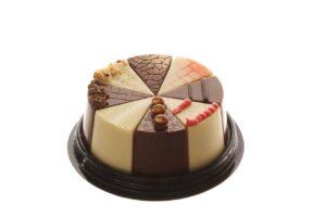 פרלין איכותי בצורת עוגה