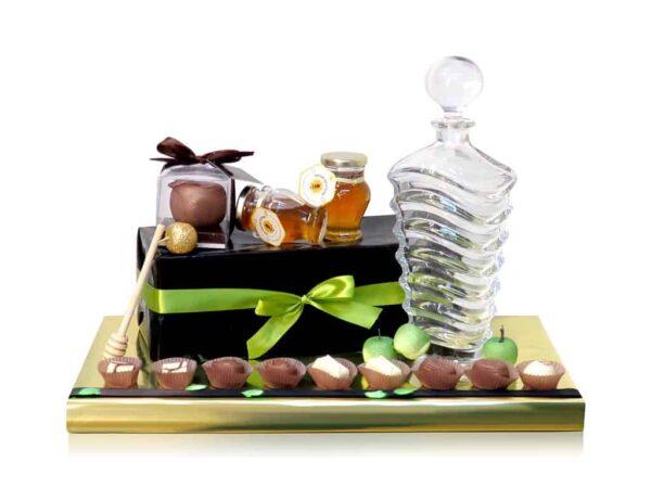 שנה מתוקה קריסטל שוקולד ודבש