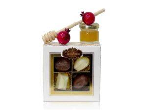 איחולי שנה טובה דבש ושוקולד