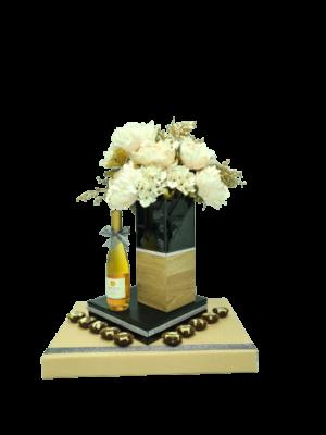 אגרטל מושלם יין קינוח ושוקולד בעיצוב