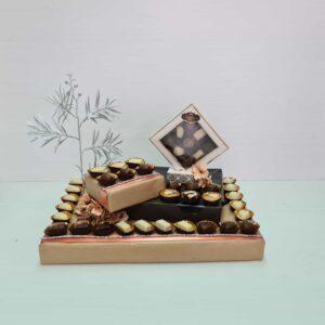 משלוח שוקולד בעיצוב למשפחה מבודדת