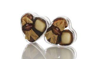 מארזי שוקולד פרלינים לב