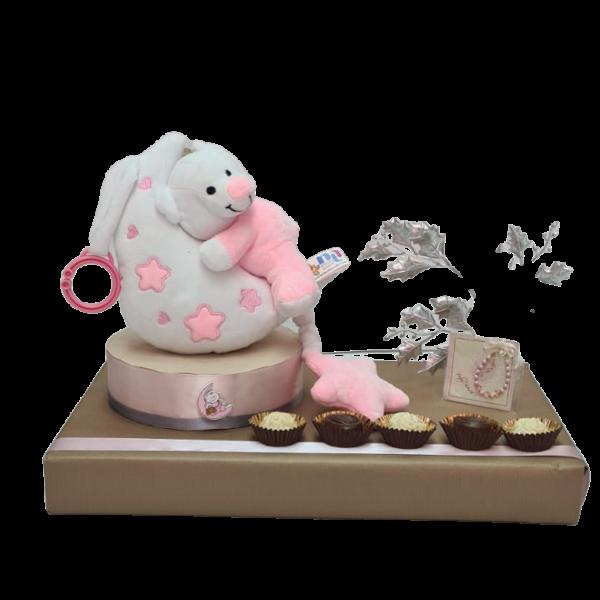 מארז ללידה בעיצוב מתנות שוקולד