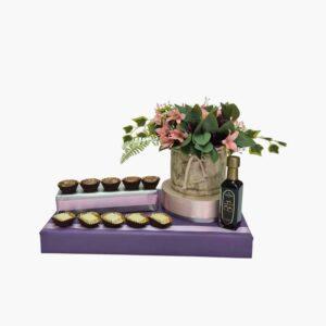 מתנה לחג השבועות עיצוב שוקולד