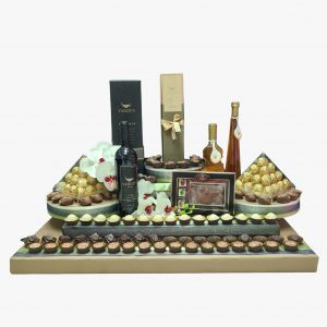 עיצוב שוקולד ויין מכובד לכל ארוע